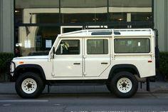 Cars Dawydiak 1993 Land Rover Defender 110