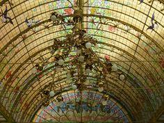 art nouveau dome of light | by e³°°° Winter garden in art nouveau (1900) in my hometown (Onze-Lieve-Vrouw-Waver, between Antwerp and Brussels)