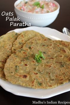 Oats paratha/chapathi is a staple at home. I make them pretty much every single day of the week. Since we eat them every day, every now and then I like to make oat's paratha using… Oats Recipes Indian, Healthy Indian Recipes, Tasty Vegetarian Recipes, Paratha Recipes, Flatbread Recipes, Lunch Box Recipes, Breakfast Recipes, Snack Recipes, Dinner Recipes