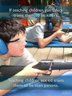 I'm all for gun safety classes. Guns are dangerous, so you NEED to know how to use them properly! They are more affective that way. Truth Hurts, It Hurts, The Knowing, Liberal Logic, Out Of Touch, Political Views, Political Topics, Parenting Teens, Frases