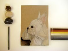 French Bulldog by PaperDartSHOP on Etsy