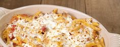 Baked Penne with Pork Ragu - Michael's pulled pork is delicious in this baked penne dish!