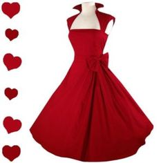 My type of dress and my favourite colour