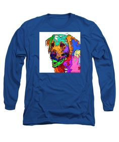 Long Sleeve T-Shirt - Want To Go For A Walk. Pet Series