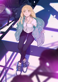she's so cute Anime Girlxgirl, Yuri Anime, Illustration Girl, Character Illustration, Anime Art Girl, Manga Art, Tan Jiu, Drawn Art, Manhwa Manga