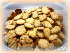 Kekse mit der Gebäckpresse