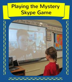 Corkboard Connections: Playing the Mystery Skype Game - Awesome way to use technology in the classroom as a part of global education!