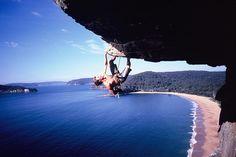 1. Get this good at Rock Climbing