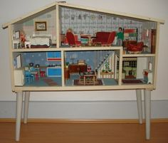 Vintage Dolls Houses: Lundby c1962 WANT, WANT, WANT!