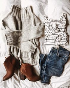Terrific outfit idea to copy ♥ For more inspiration join our group Amazing Things ♥ You might also like these related products: - Sweaters ->. Grunge Outfits, Mode Outfits, Casual Outfits, Fashion Outfits, Rock Style, My Style, Rock Chic, Fashion Mode, Womens Fashion