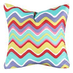 Crayola Mixed Palette Decorative Pillow