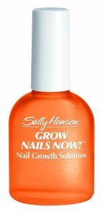 Sally Hansen Grow Nails Now, 0.45 Fluid Ounce by Sally Hansen. $6.60. Helps Short Brittle Nails Grow. Bio-Active Vita-Soy Complex. Sally Hansen grow nails now. is a nail vitamin packed growth treatment created for short, brittle, damaged problem nails. Longer nails in 5-7 days. Helps short, brittle nails grow. Bio-active vita-soy complex formula helps replenish essential nutrients critical for healthy looking nails. Moisturizing aloe promotes flexibility. Healthy looking...