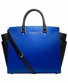 MICHAEL Michael Kors Handbag, Selma Large North South Tote - Tote Bags - Handbags & Accessories - Macy's
