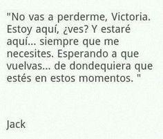 Frase MDI (ToT)  Jack eres amor.