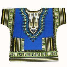 White Dashiki Shirt for Men/ Women