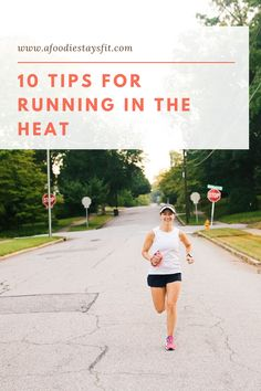 Making sure to be careful when running during the summer is very important not only for you to personally enjoy the exercise, but to ensure that  you stay safe! Learn these quick tips that can let you tweak your experience, such as the adjustment of your pace, and have a more enjoyable time! | Learn how to run in the heat, running in the heat clothes, summer running clothes Running Routine, Running Plan, Running Race, Running Workouts, Running Tips, Fun Workouts, Stay Safe, Stay Fit, Running In The Heat
