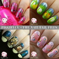 First episode of The Nail Fail Files! I want to show you the #nailart designs that didn't make it to the blog, for various reasons. We can all have a laugh about it!