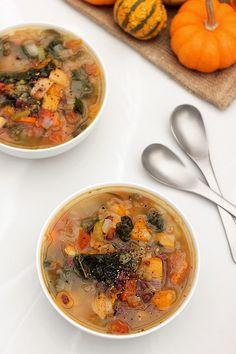 Fall Detox Soup | http://tasty-yummies.com |  #glutenfree #vegan