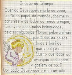 **Blog Amor Perfeito** Gráficos de ponto cruz: Anjinhos