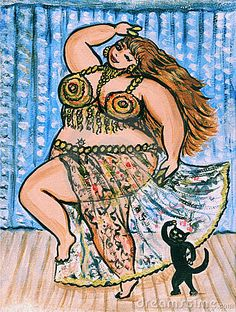 https://es.pinterest.com/yuliyahberlin/belly-dance-paintings-illustrations/