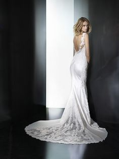 White Lily Couture Pronovias Presea Bridal Gown Visit link for details or to schedule your appointment!