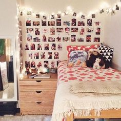 Loft bed + curtains = mini fort!