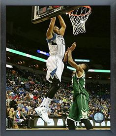 9d3e43db684 KarlAnthony Towns Minnesota Timberwolves 201516 NBA Action Photo Size 17 x  21 Framed -- Find out more about the great product at the image link.