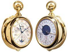 Часы Patek Philippe Caliber 89 — воплощение изящества и шика