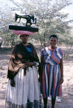 HERERO WOMEN - WINDHOEK, NAMIBIA