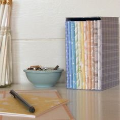 * Box Set of 12 Patterned Journals