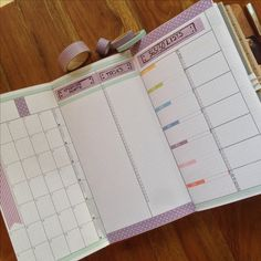 This is my fauxdori an everyday planner, baby milestone diary, meal planning, to do lists, cleaning schedule etc ; as my brain needs everything in one place.    midori travelers notebook plannerlove lifemapping washi tape filofax filofaxing filofaxerei journal diyfish inserts sticky notes jendori Chicsparrow