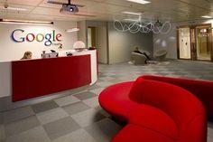 Office Interior Designs Lobby Google Munich Germany