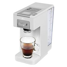 Litchi Single Serve Coffee Maker, Coffee Machine for Most Single Cup Pods Including K Cup Pods, Quick Brew Technology 4 Cup Coffee Maker, White Espresso Machine Reviews, Coffee Maker Reviews, Espresso Coffee Machine, Single Cup Coffee Maker, French Press Coffee Maker, Single Serve Coffee, Top Rated Coffee Makers, Pod Coffee Makers, Coffee Making Machine