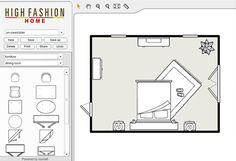 Room Planner - Make sure it fits!  Free tool by High Fashion Home