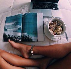 Good breakfast & good surf