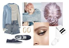 """""""Get the Look: Jimin Spring Day"""" by royal-violet ❤ liked on Polyvore featuring Faith Connexion, The Row, Vans and Avenue"""