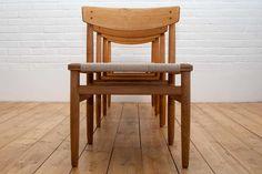 Borge Mogensen Oresund dining chairs
