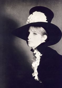 Barbra Streisand for 'On a Clear Day You Can See Forever', 1970. Photo by Cecil Beaton. Stunning photograph
