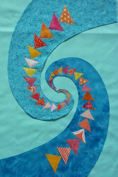 curved flying geese pattern - Google Search