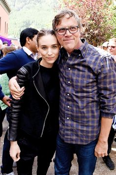 Rooney Mara and Todd Haynes attend the 2015 Telluride Film Festival on September 5, 2015 in Telluride, Colorado.