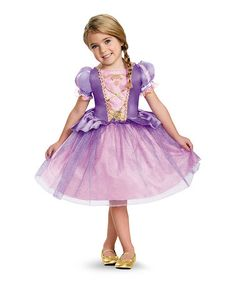 Look what I found on #zulily! Disney Princess Classic Rapunzel Dress - Toddler & Kids #zulilyfinds