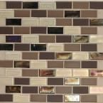 MS International Caramel 3 in. x 6 in. Glass Wall Tile (1 sq. ft./ case)-SMOT-GL-T-CR36 at The Home Depot