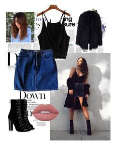 """""""Tessa Brooks #1"""" by beautylv on Polyvore featuring American Apparel, Barbara Bui and Lime Crime"""