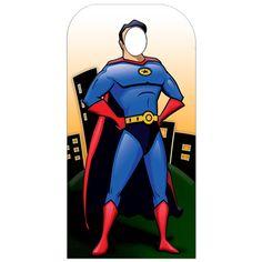 Superhero cutout