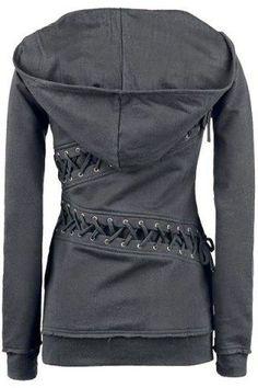 laced hoodie