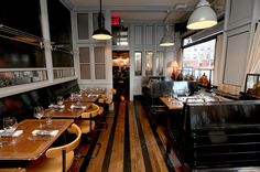 Cole's Greenwich Village, a Stylish American Restaurant