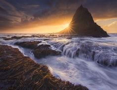 Castle by the Sea by Michael Shainblum on 500px