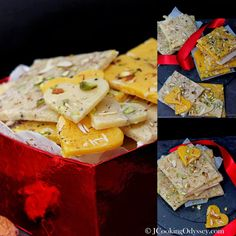 Jagruti's Cooking Odyssey: Bombay Ice and Golden Halwa - Sweets for your Sweet !