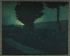 Road into the Valley-Moonrise--Steichen