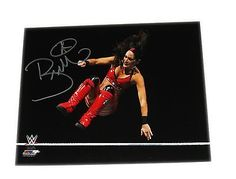 WWE BRIE BELLA BELLA TWINS HAND SIGNED AUTOGRAPHED 8X10 PHOTO FILE COA 93
